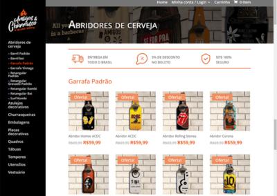 Amigos e churrasco – E-commerce